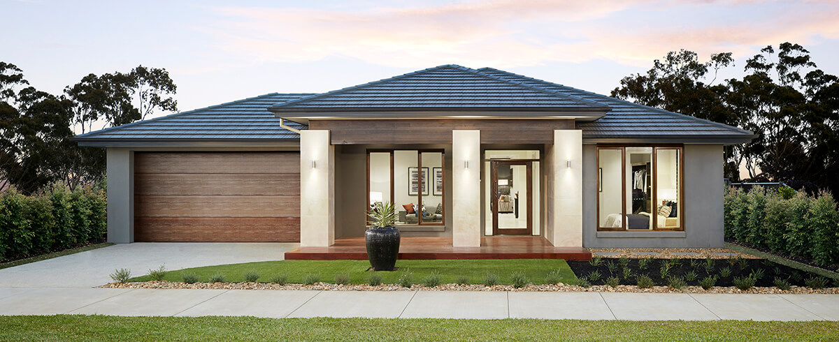 outdoor photo of the Charlton single storey home design